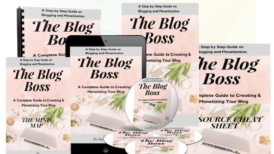 Blog Boss Training Course